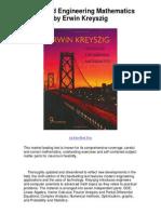 Advanced Engineering Mathematics by Erwin Kreyszig - Advanced Engineering Mathematics For Everyone!!!!.pdf