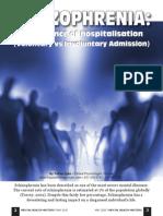 Schizophrenia- Importance of Hospitalisation