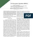 Bi-serial DNA Encryption Algorithm (BDEA)