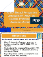 Briefing on ASEAN MRA 100713.ppt