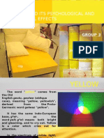 The Color Yellow
