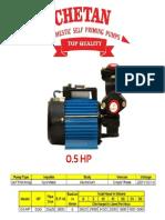 Domestic Monobloc pump