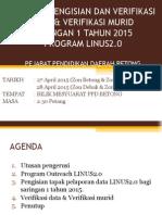 Bengkel Pengisian Dan Verifikasi Data & Verifikasi Murid Sar
