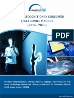 Gesture Recognition in Consumer Electronics Market