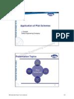 TUTORIAL 6 Application of Pilot Scheme
