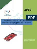 Logic Gates FreeSoC2