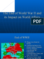 End of Wwii Cold War