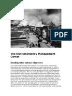 The Iran Emergency Management Center - Zakat
