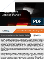 Global Automotive Lighting Market Forecast, 2014 - 2020