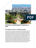 Economic Development Progress in Iran - Tradeore