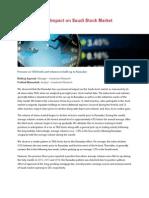 """Ramadan - The Impact on Saudi Stock Market """