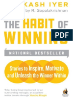 Habit of Winning, The - Iyer, Prakash