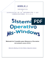 Apunte Windows S.O