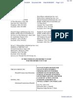 SCO Grp v. Novell Inc - Document No. 348