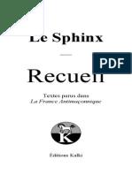 Le Sphinx - Recueil René Guénon