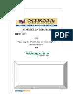Sumit Kumar_ Internship Report