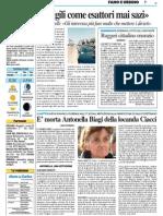 E' morta Antonella Biagi della Locanda Ciacci - Il Resto del Carlino del 20 luglio 2015
