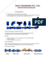 Compression Fittings for HDPE Pipe