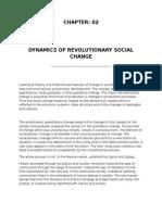 DYNAMICS OF REVOLUTIONARY SOCIAL CHANGE