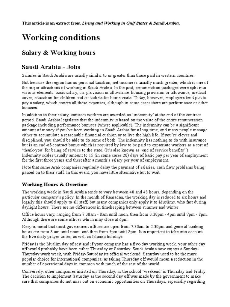 Living Working In Ksa Workweek And Weekend Banks
