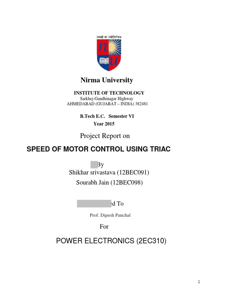 Speed Of Moter Control Field Effect Transistor Electric Current How To Make A Simplest Triac Dimmer Switch Circuit Electronic