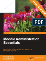 Moodle Administration Essentials - Sample Chapter