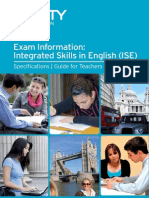 ISE Exam Information Doc - Sept 2013