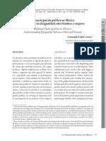 La participación política en México. Entendiendo la desigualdad entre hombres y mujeres.pdf