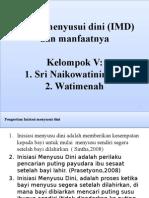 Inisiasi Menyusui Dini (IMD)