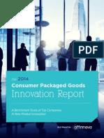 Affinnova 2014 CPG Innovation Report