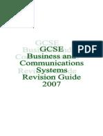 31765 Bcs Revision Guide