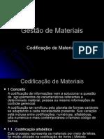 Codificao de Materiais