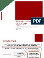CONGENITAL GLAUCOMA B4.ppt