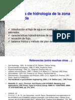 HIDROLOGIA DE LA ZONA NO SATURADA