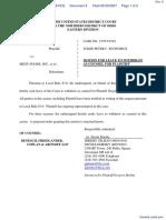 Boehm v. Menu Foods, Inc. et al - Document No. 8