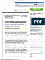 Jaime E. Settle - Friendships Moderate an Association Between a Dopamine Gene Variant and Politic