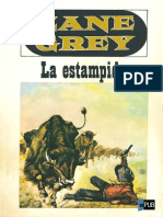 La Estampida - Zane Grey