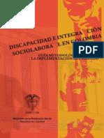 Discapacidad e Integración Sociolaboral en Colombia