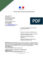 Circulaire DGOS/RH4/2015/234