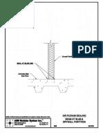 CS-9706 - Seam at Slab & Drywall Partition