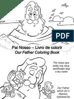 Pai Nosso Livro de Colorir - Our Father Coloring Book