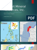 Offshore Black Sand Mining in the Pihilippines Massart Hongkong Presentation - Updated 07042015