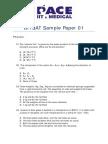 BITSAT Sample Paper 01df b