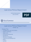 Lawrence Police Facility Study Session 7-20-2015
