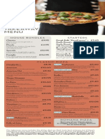 Pizzaexpress Menu Tre Ta