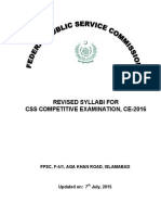 Revised Syllabus CE-2016 10 Jul 2015