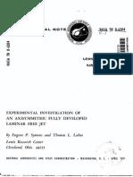laminar axisymmetric jets
