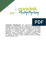 Poradnik Autystyczny-reklama