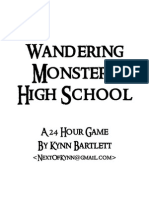 Wandering Monsters High-School