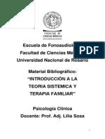 Material Bibliográfico Unidades VIII, IX y X Psicología Clínica